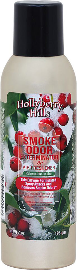 Smoke Odor Exterminator Spray - Hollyberry Hills - 7oz