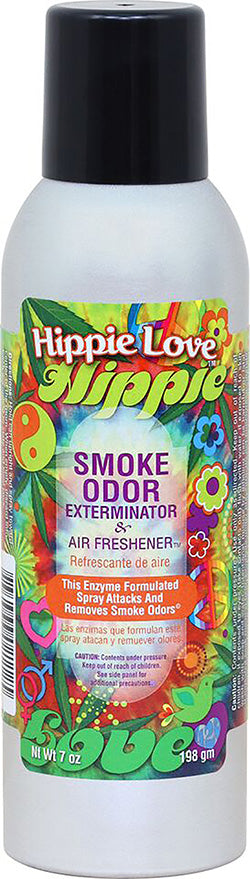 Smoke Odor Exterminator Spray - Hippie Love - 7oz