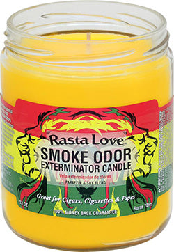 Smoke Odor Exterminator Candle - Rasta Love