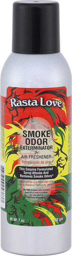Smoke Odor Exterminator Spray - Rasta Love - 7oz