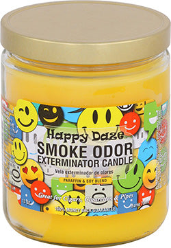 Smoke Odor Exterminator Candle - Happy Daze