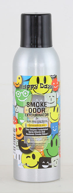 Smoke Odor Exterminator Spray - Happy Daze - 7oz