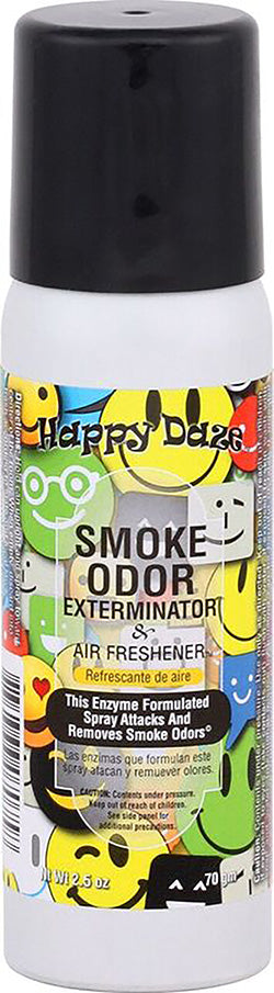Smoke Odor Exterminator Spray - Happy Daze - 2.5oz