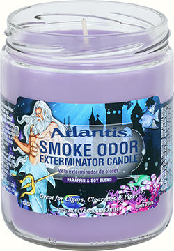 Smoke Odor Exterminator Candle - Atlantis