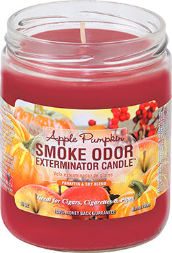 Smoke Odor Exterminator Candle - Apple Pumpkin