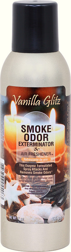 Smoke Odor Exterminator Spray - Vanilla Glitz 7oz