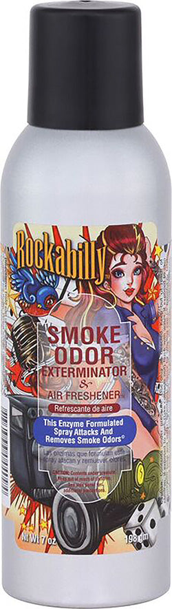Smoke Odor Exterminator Spray - Rockabilly - 7oz