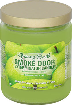 Smoke Odor Exterminator Candle - Granny Smith