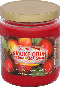 Smoke Odor Exterminator Candle - Sugar Plum