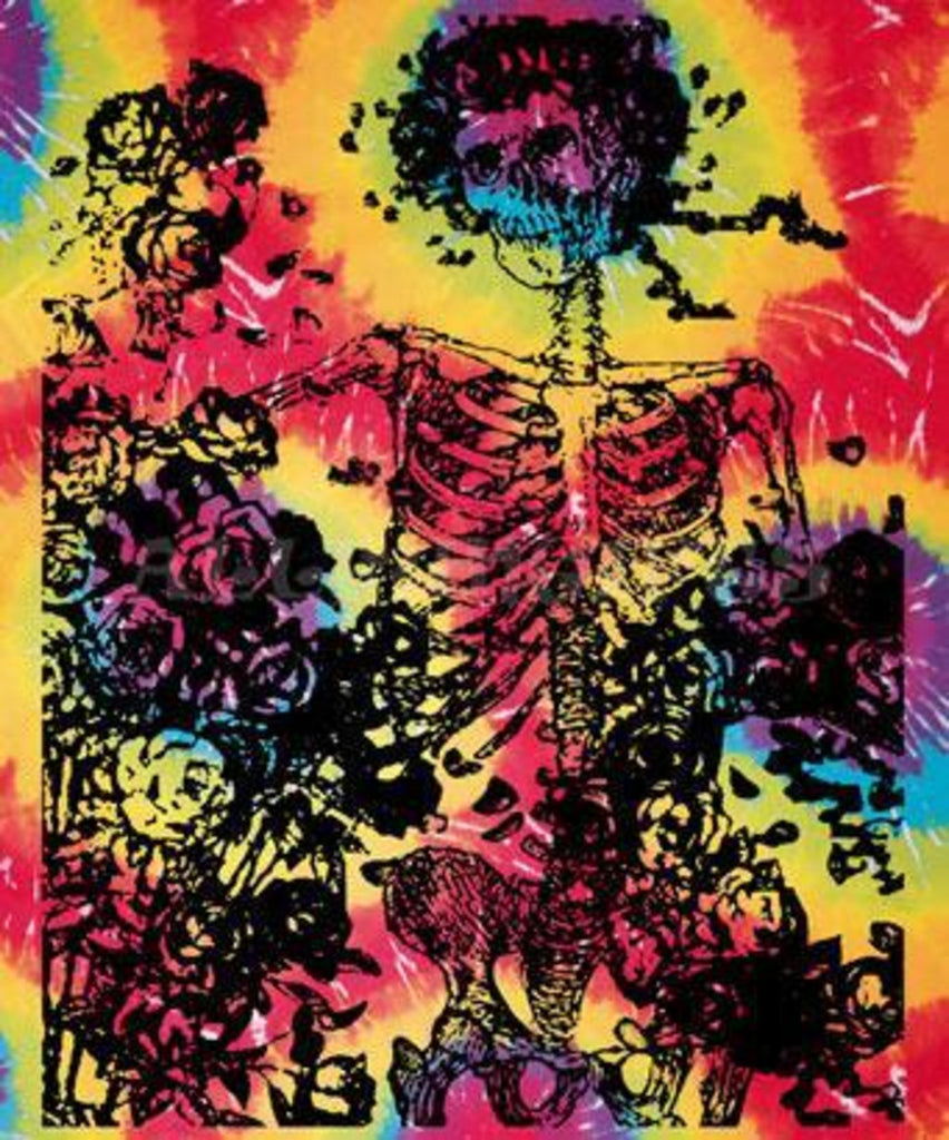 Tie-Dye Grateful Dead Bertha Tapestry - 40''x45''