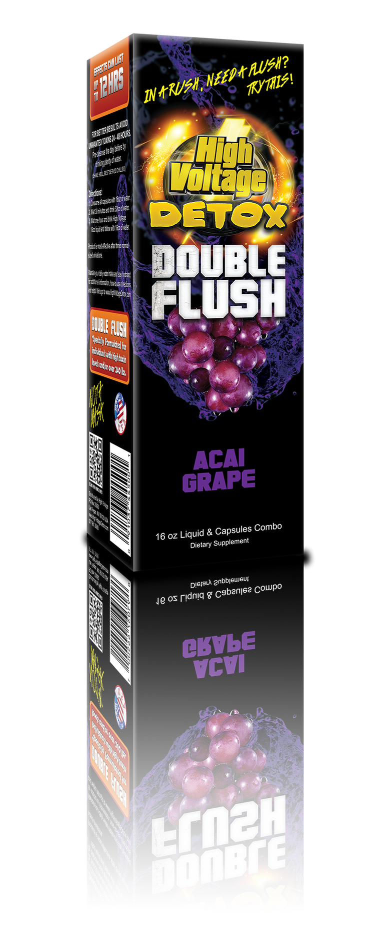 HV Detox Double Flush - Acai Grape