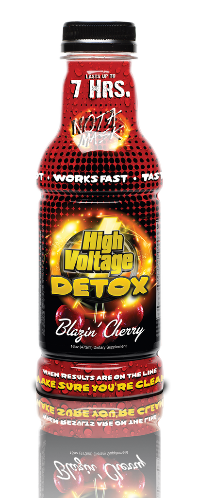 High Voltage Detox 16oz - Blazin Cherry