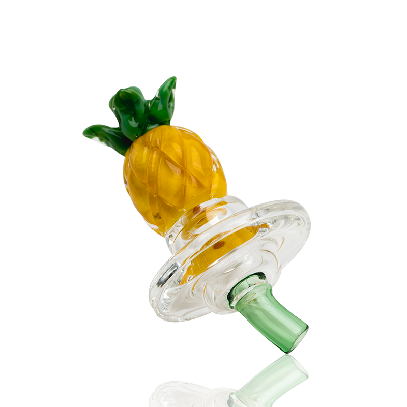 Empire Glassworks Carb Cap - Pineapple