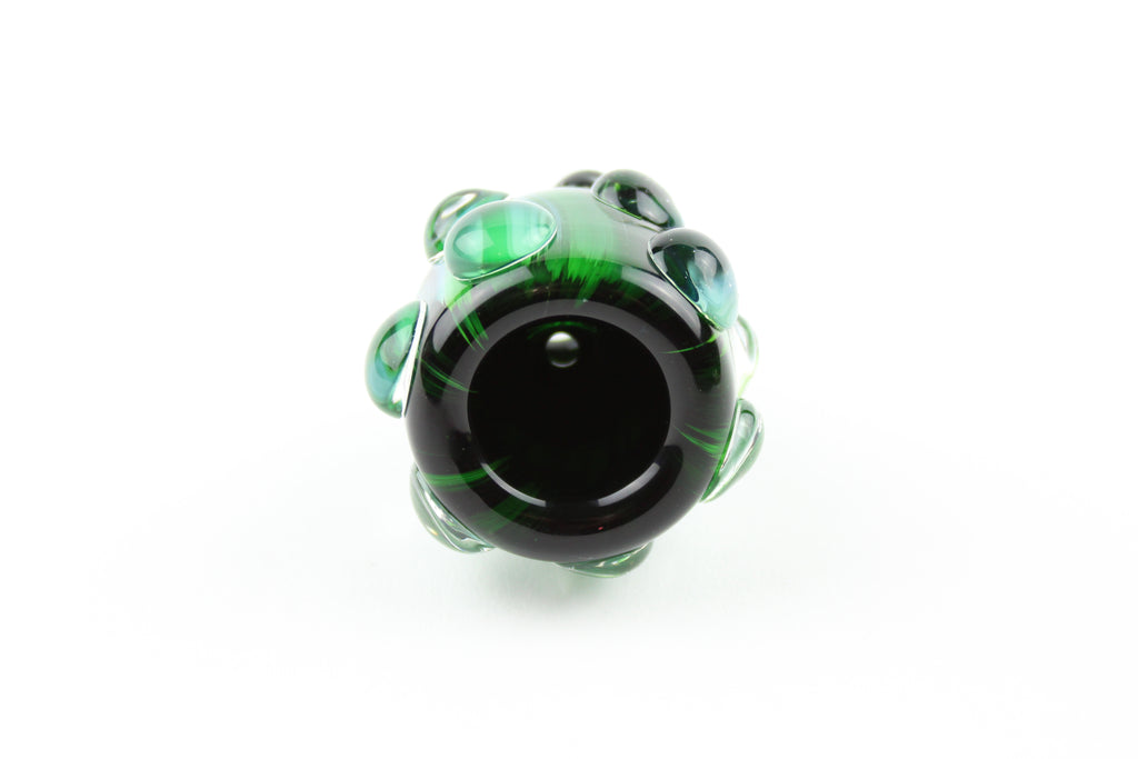 14mm Color Bowl - Green Strike