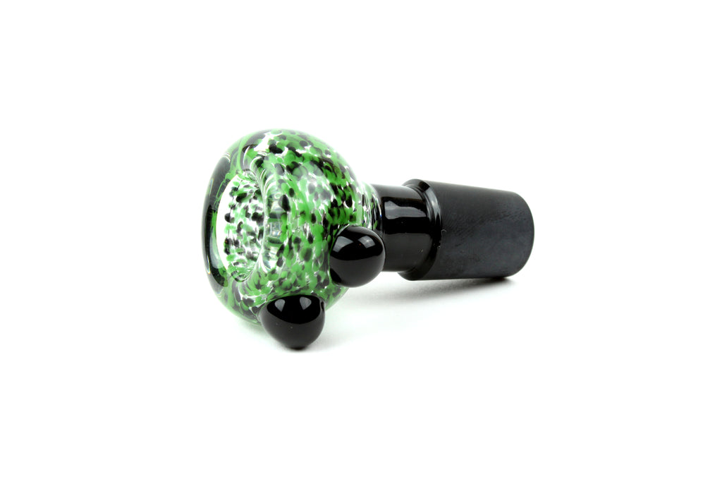 18mm - Jungle Frit Slide w/ Black Joint