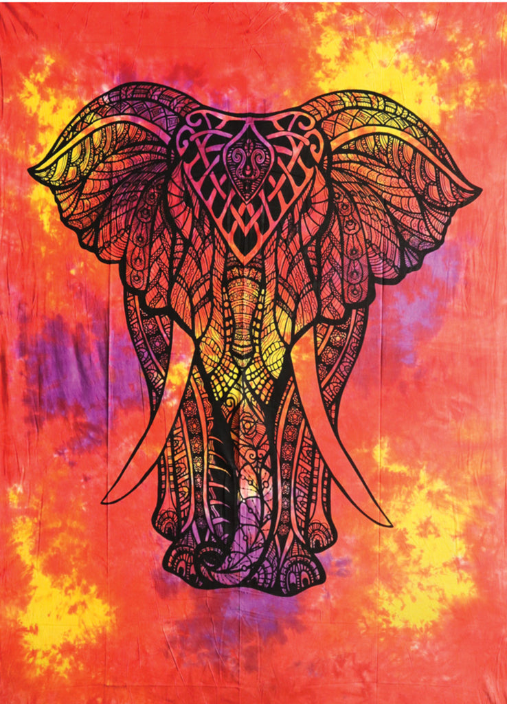 "King Elephant Tapestry - 55""x85"""