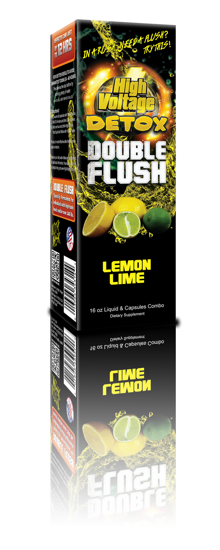 HV Detox Double Flush - Lemon Lime
