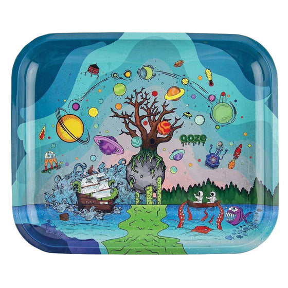 Ooze Rolling Tray - Tree of Life - Large