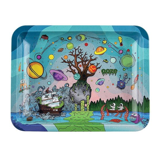 Ooze Rolling Tray - Tree of Life - Medium