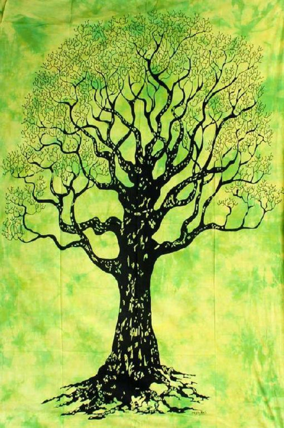 "Tree of Life Tapestry - 55""x85"""