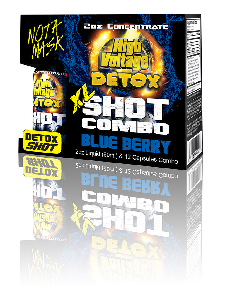 HV Detox XL Shot - Blue Berry