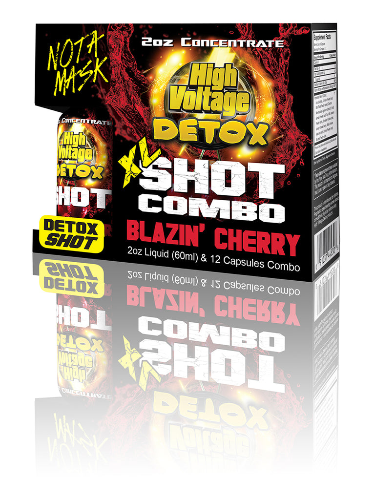 HV Detox XL Shot - Blazin Cherry