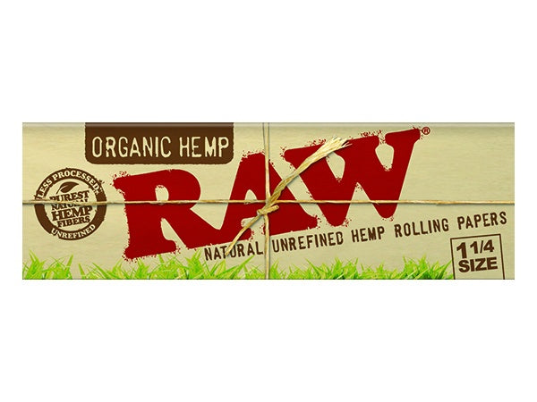 Raw Organic Hemp 1-1/4'' Papers