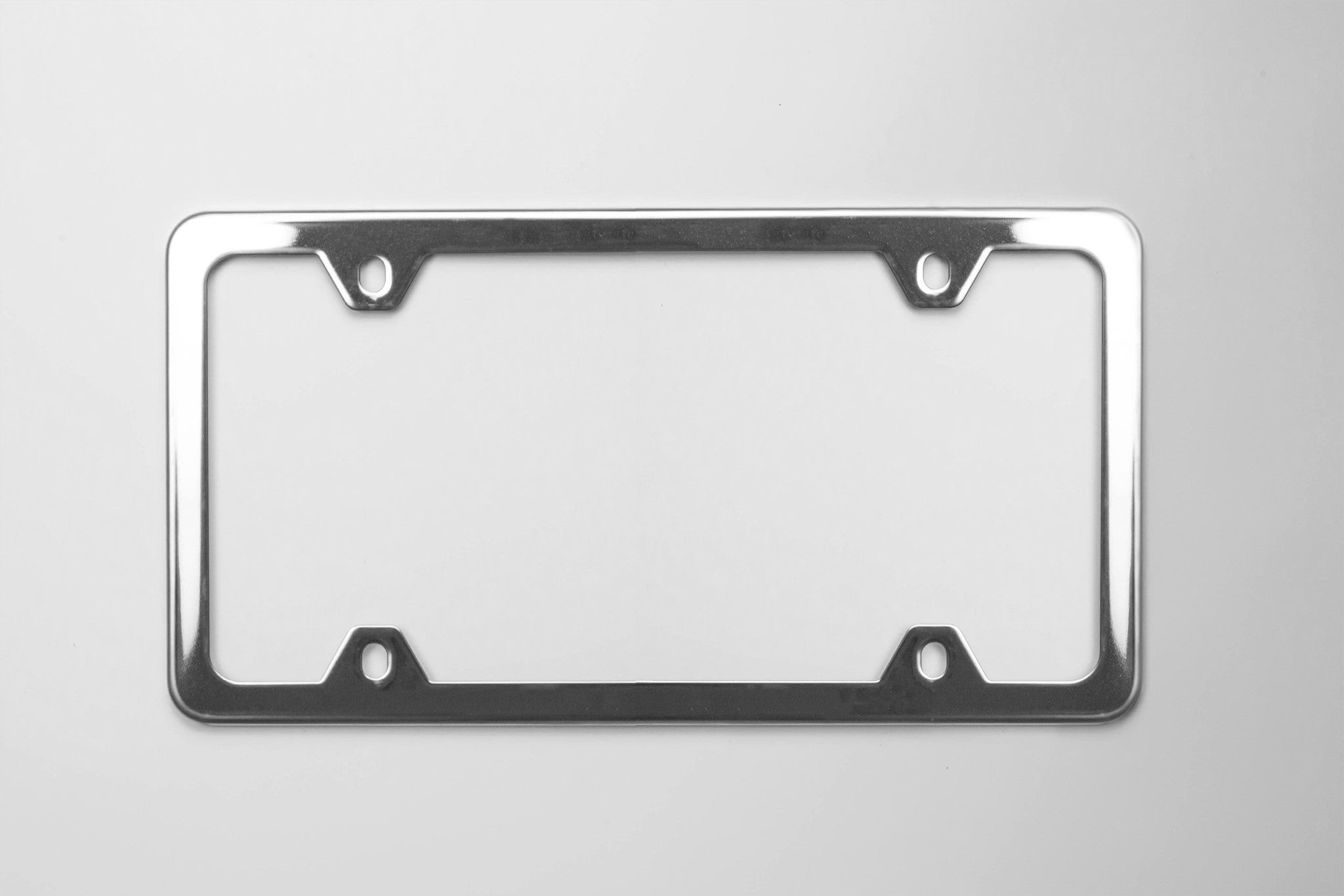 ultimate stainless steel license plate frame
