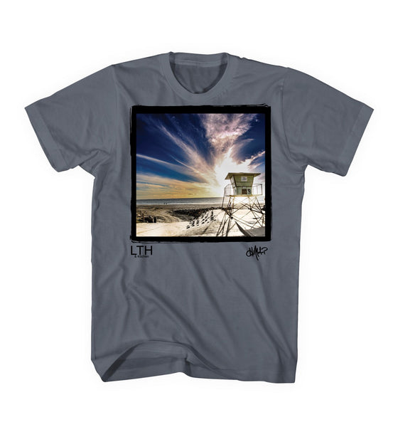 Hans Molenkamp Photo Shirt Lifeguard Tower