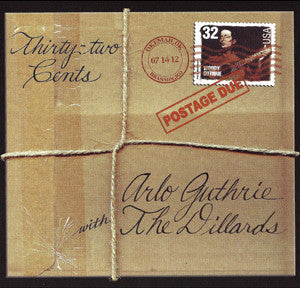 32 Cents/Postage Due CD - Arlo Guthrie