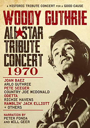 NEW! Woody Guthrie: All-Star Tribute Concert 1970 DVD