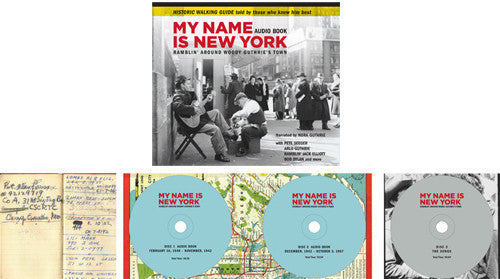My Name Is New York - Book & 3-CD Audiobook - GRAMMY Award Nominee!