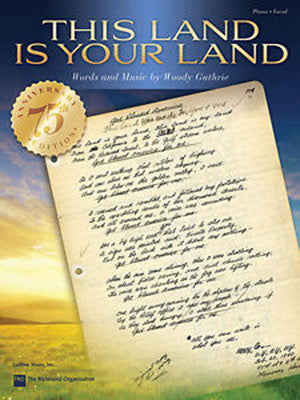 This Land Is Your Land - Sheet Music