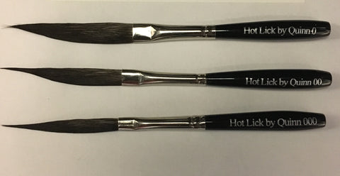 "Hot Lick Striper by Quinn - Natural Bristle - ""HL"""