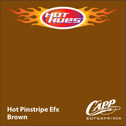 Hot Hues Hot Pinstripe Efx Paint - Brown - HHM-6521