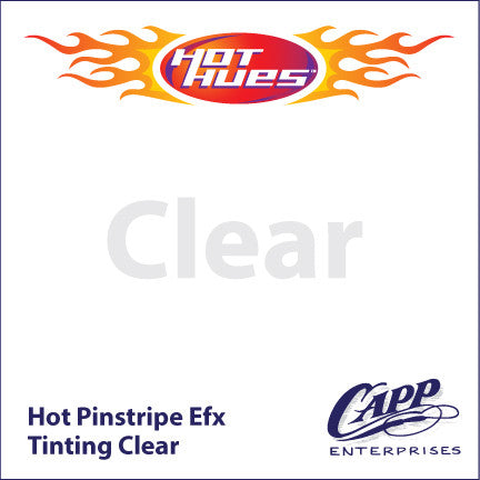 Hot Hues Hot Pinstripe Efx Paint - Tinting Clear - HHM-6522