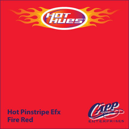 Hot Hues Hot Pinstripe Efx Paint - Fire Red - HHM-6527