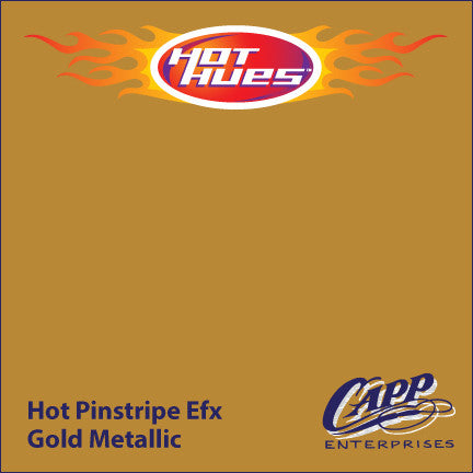 Hot Hues Hot Pinstripe Efx Paint - Gold Metallic - HHM-6520