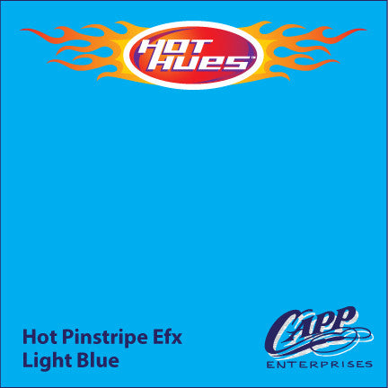 Hot Hues Hot Pinstripe Efx Paint - Light Blue - HHM-6524