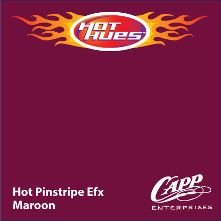 Hot Hues Hot Pinstripe Efx Paint - Maroon - HHM-6509