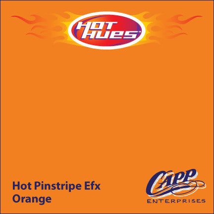 Hot Hues Hot Pinstripe Efx Paint - Orange - HHM-6507