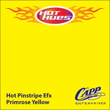 Hot Hues Hot Pinstripe Efx Paint - Primrose Yellow - HHM-6504