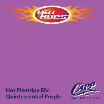 Hot Hues Hot Pinstripe Efx Paint - Quintessential Purple - HHM-6510