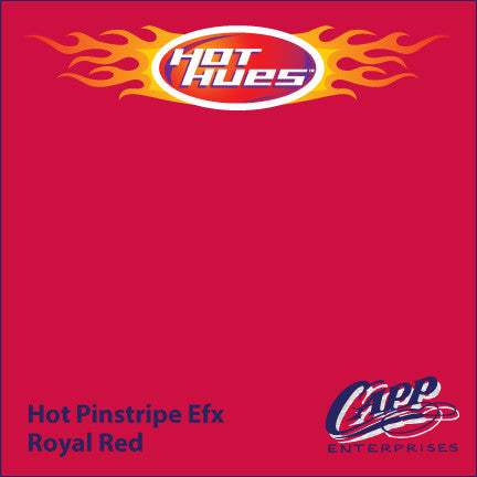 Hot Hues Hot Pinstripe Efx Paint - Royal Red - HHM-6508