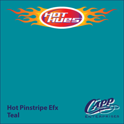 Hot Hues Hot Pinstripe Efx Paint - Teal - HHM-6515