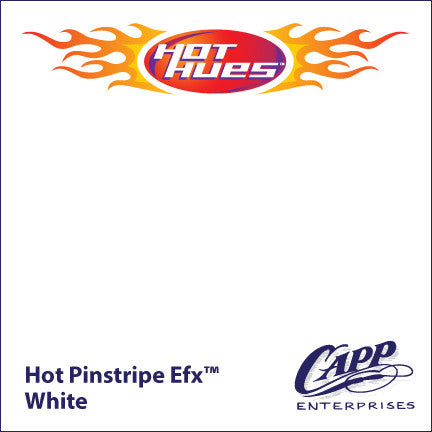 Hot Hues Hot Pinstripe Efx Paint - White - HHM-6501