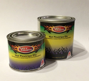 Hot Hues Hot Pinstripe Efx Paint - Silver Metallic - HHM-6519