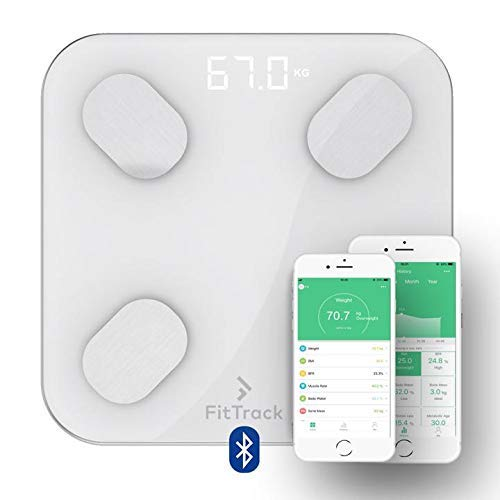 FitTrack Dara Smart BMI Digital Scale Media