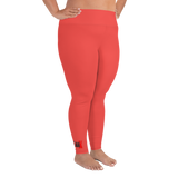 Coral Plus Size Leggings by GearX