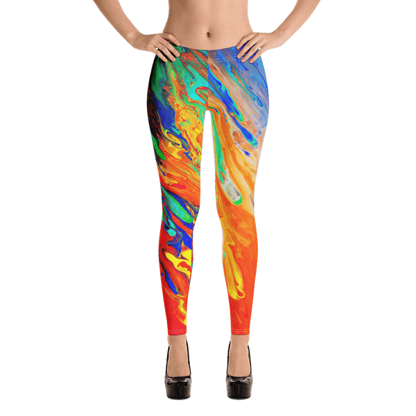 Abstract Overflow Leggings by GearX